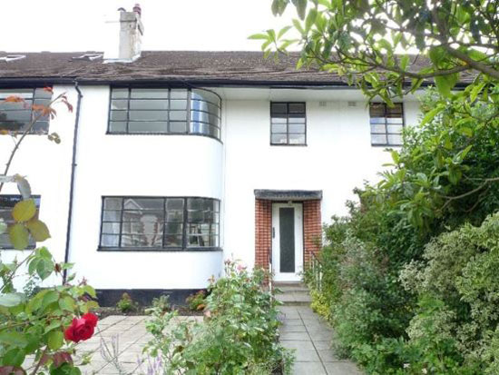 on the market three bedroom art deco style house in muswell hill
