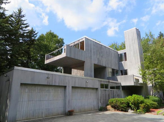 On the market: 1970s Myron Goldfinger-designed modernist property in Wilmington, Vermont, USA