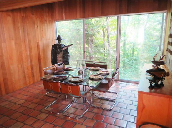 1970s Myron Goldfinger-designed modernist property in Wilmington, Vermont, USA