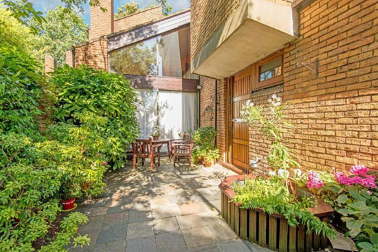 On the market: 1970s Ted Levy-designed modernist property in Highgate, London N6