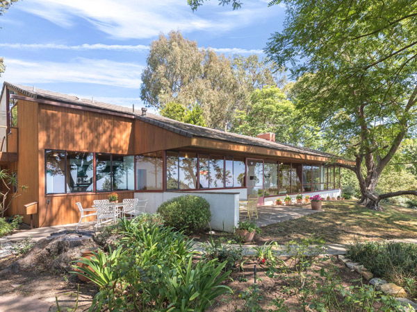 Richard Neutra's Coe House in Rolling Hills, California, USA