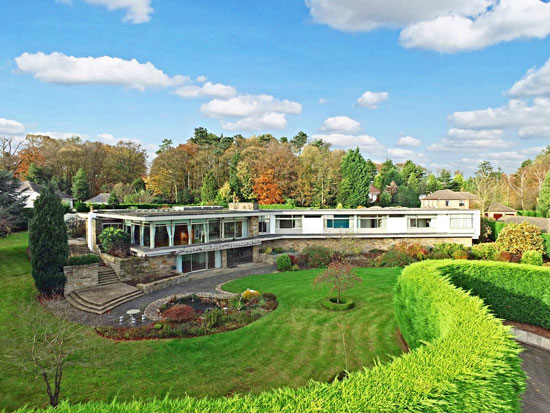 Back on the market: 1960s Elsworth Sykes-designed Garth House midcentury modern property in North Ferriby, East Yorkshire
