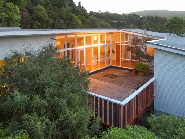 1960s Fritz Eisenhofer midcentury modern house in Wilton, Wellington, New Zealand