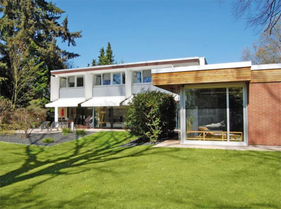 Richard Neutra in Europe: 1960s modernist property in Walldorf, Germany