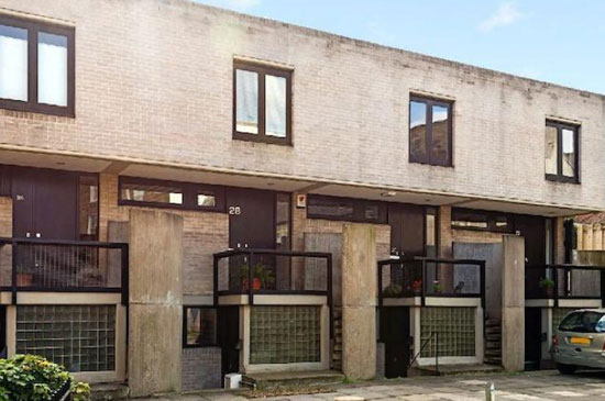 On the market: 1960s Neave Brown-designed modernist terraced property in London N19
