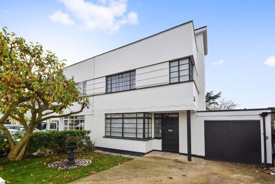 1930s semi-detached art deco property in New Malden, Surrey