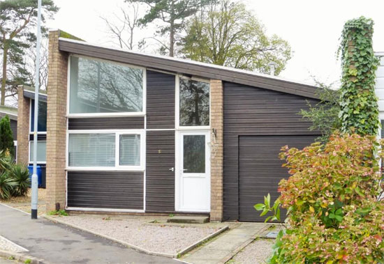 1970s modernist property in Norwich, Norfolk