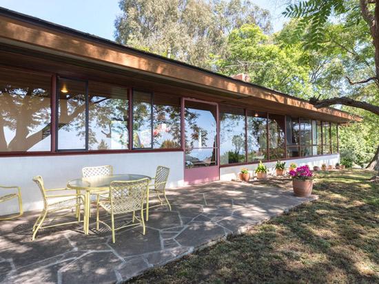 Richard Neutra's Coe House in Rolling Hills, California, USA