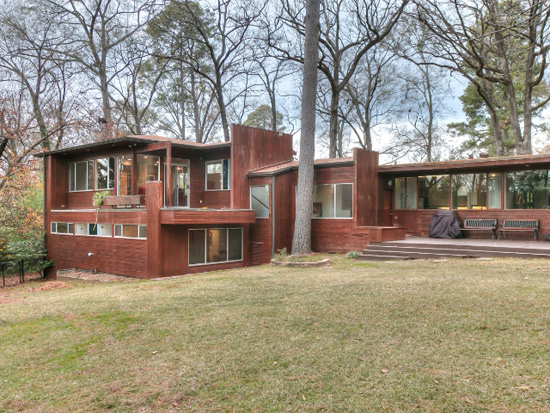 1950s Richard Neutra-Designed modernist property in Shreveport, Louisiana, USA