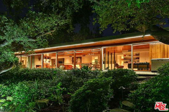1950s Richard Neutra-designed The Goldman Residence in Encino, California, USA