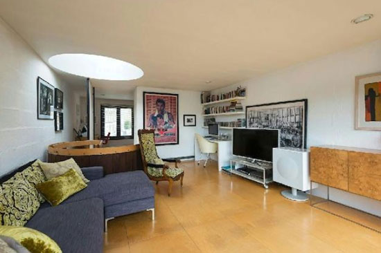 1960s Neave Brown-designed modernist terraced property in London N19