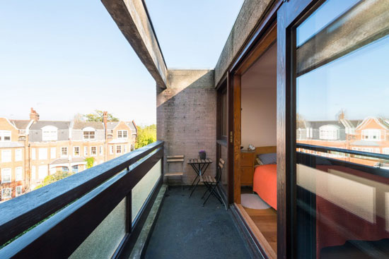 1960s Harley Sherlock-designed modernist townhouse in London N6