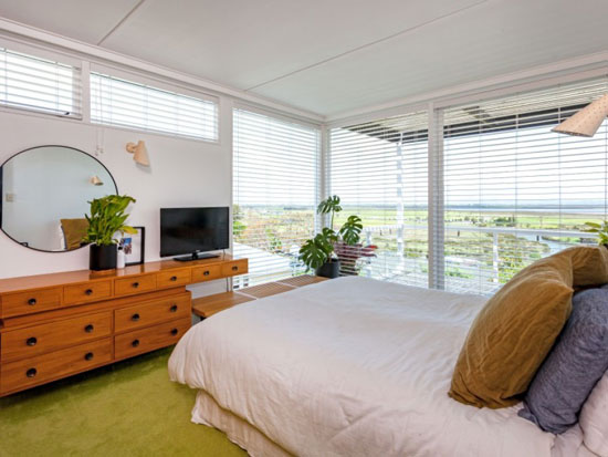 1950s Rigby Mullen midcentury modern house in Thames, New Zealand