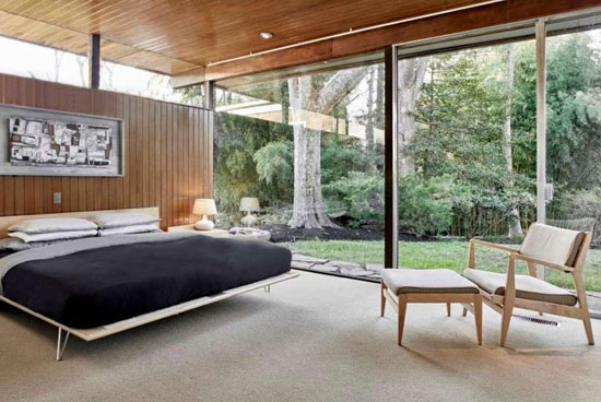 1960s modernism: Richard Neutra-designed property in Philadelphia, Pennsylvania, USA