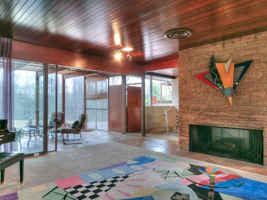 1950s Richard Neutra-Designed modernist property in Shreveport, Louisiana, USA