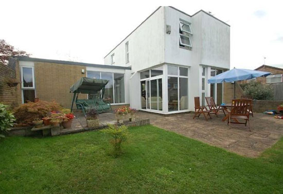 1970s architect-designed four-bedroom property in Nailsea, North Somerset