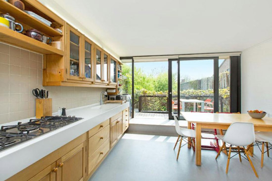 1960s grade II-listed Neave Brown-designed modernist property in London N19