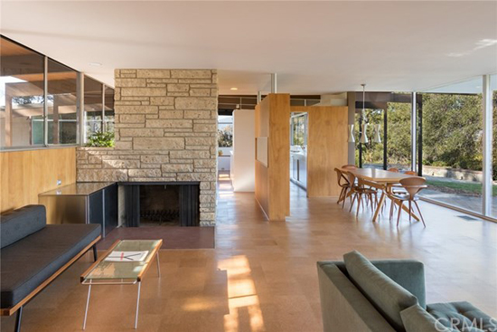 Richard Neutra classic: 1950s J.M. Roberts Residence in West Covina, California, USA