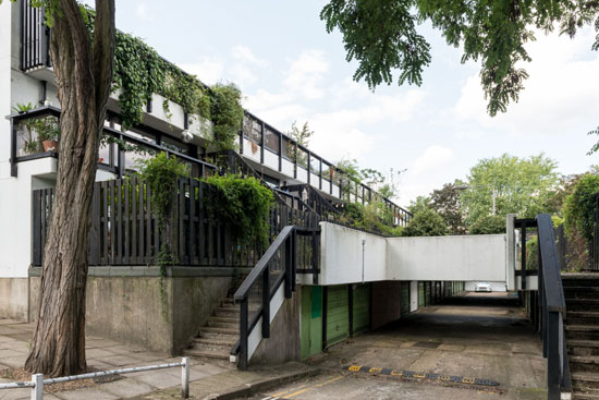1960s Neave Brown maisonette on the Dunboyne Road Estate, London NW3