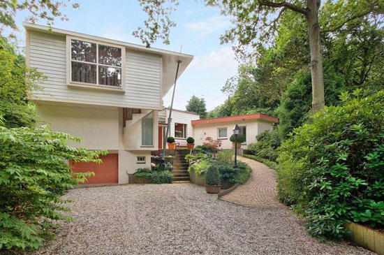On the market: 1950s four-bedroom midcentury-style property in Bergen, Holland