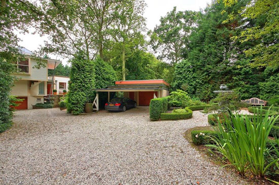 1950s four-bedroom midcentury-style property in Bergen, Holland