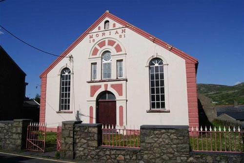 On the market: Disused Stryd Moriah chapel in Nefyn, Gwynedd, North Wales