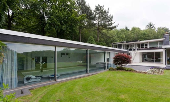1960s Richard Neutra-designed modernist property in Wuppertal, North Rhine-Westphalia, Germany