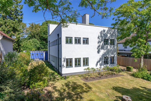 1930s Marshall Sisson modern house in Newnham, Cambridge
