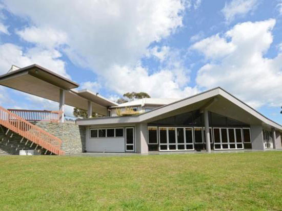 On the market: Midcentury-style four bedroom house in Haruru, Northland, New Zealand – with nuclear bunker