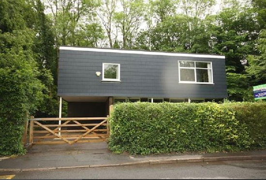 On the market: 1960s three-bedroom modernist property in Newport, Gwent