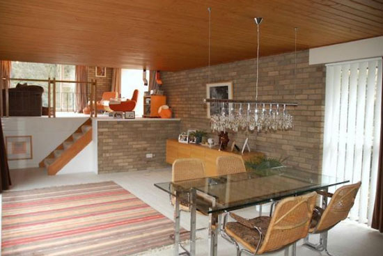 1970s four-bedroom modernist house in Ponteland, Newcastle Upon Tyne, Northumberland
