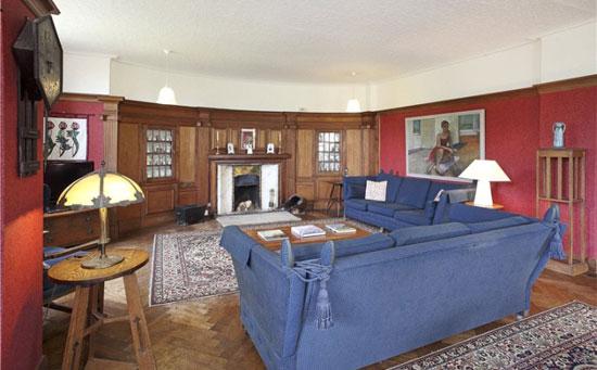 Grade II-listed Edgar Wood-designed Upmeads property in Stafford, Staffordshire