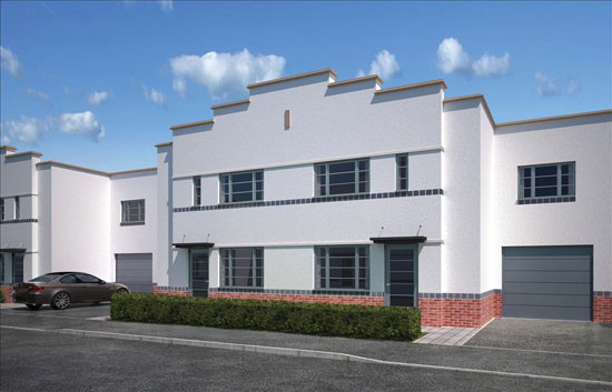 On The Market New Build Art Deco Style Property In Northampton Northamptonshire Wowhaus
