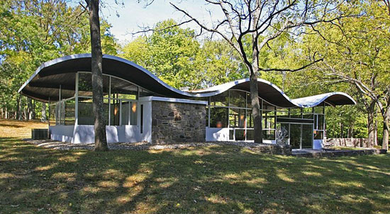 On the market: 1960s Jules Gregory-designed midcentury modern property in Lambertville, New Jersey, USA