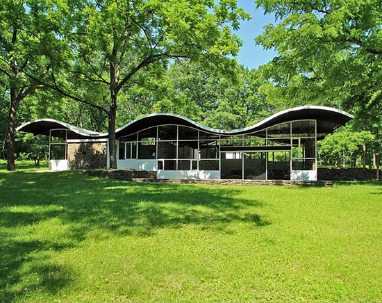 1960s Jules Gregory-designed midcentury modern property in Lambertville, New Jersey, USA