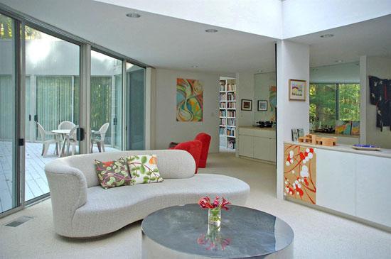 1970s Myron Goldfinger-designed modernist property in West Orange, New Jersey, USA