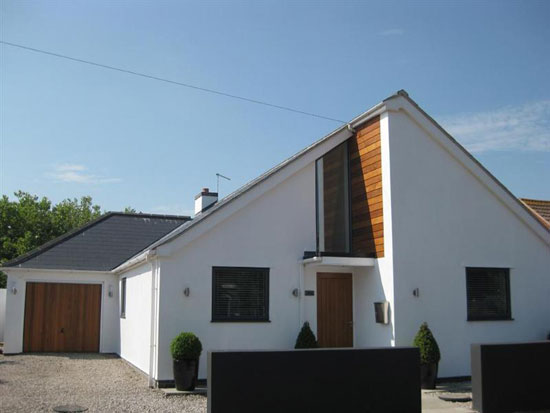 Three bedroom modernist-inspired property in Bacton, near Norwich, Norfolk