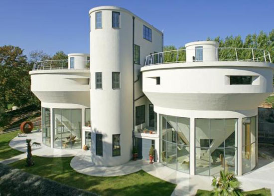 Gadget Man house: 1930s grade II-listed The Lime Works six-bedroom house in Norton, Kent (updated)