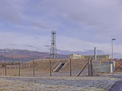 Former nuclear bunker for sale: Cultybraggan Bunker, Cultybraggan Camp, Comrie in Perthshire