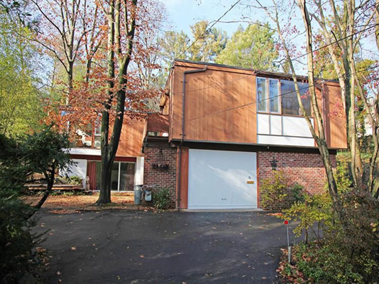 On the market: 1960s Wilson Enrique Garces-designed midcentury modern property in Rye Brook, New York state, USA