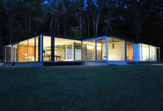 On the market: The Binocular House modernist property in Ghent, NY, USA