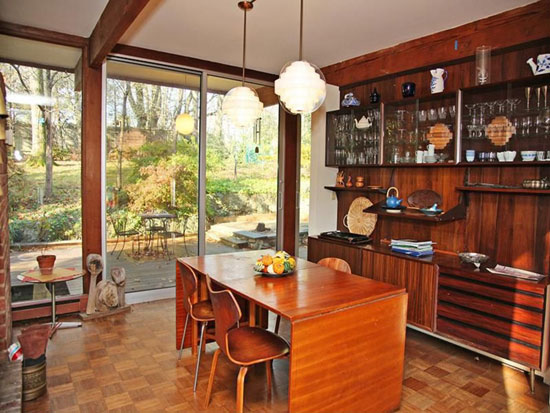 1960s Wilson Enrique Garces-designed midcentury modern property in Rye Brook, New York state, USA