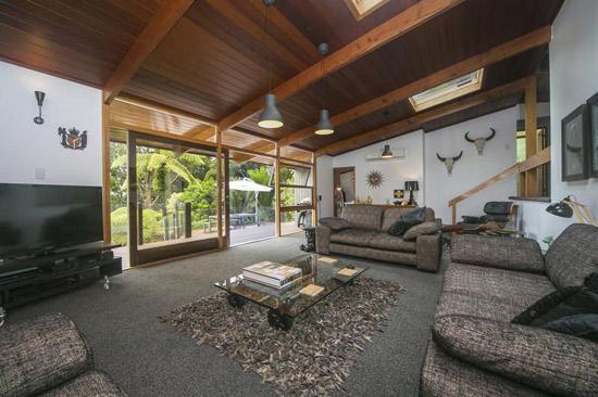 1960s midcentury property in Titirangi, Waitakere City, New Zealand