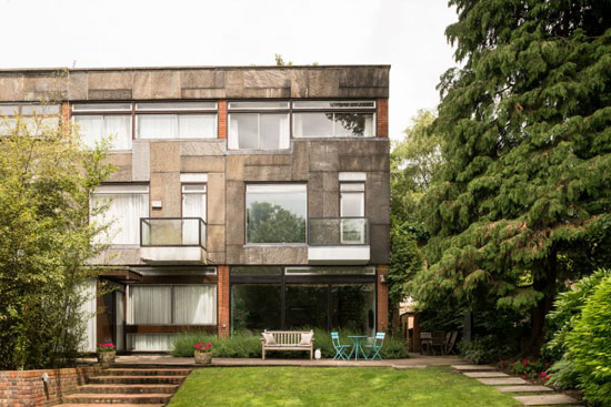 On the market: 1960s Michael Lyell Associates-designed modernist property in Hampstead village, London NW3