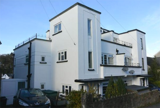 Four-bedroom art deco-style semi-detached property in Okehampton, Devon