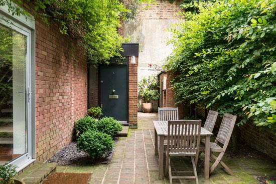 1960s Michael Lyell Associates-designed modernist property in Hampstead village, London NW3