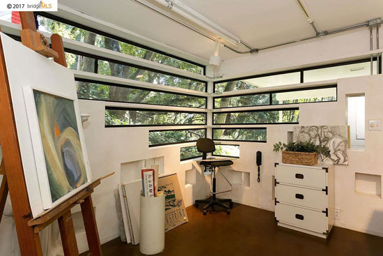 1950s modernism: Donald and Helen Olsen House in Berkeley, California, USA