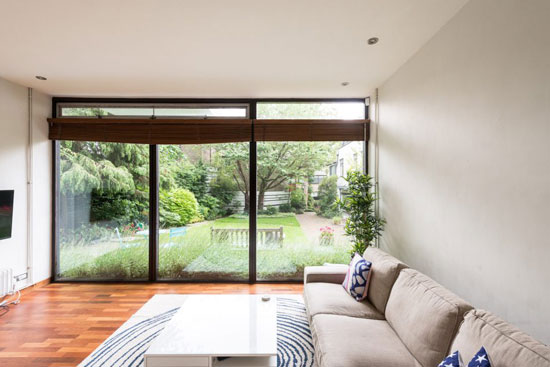 1960s Michael Lyell Associates-designed modernist property in Hampstead village, London NW3