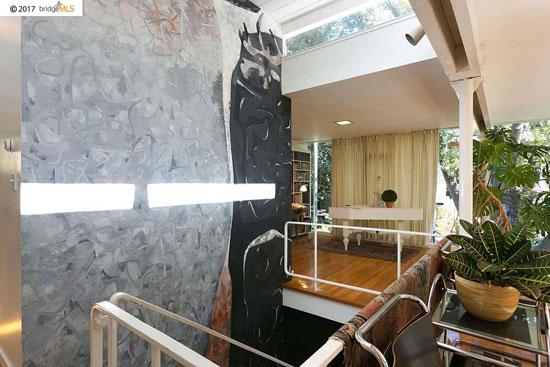 1950s modernism: Donald and Helen Olsen House in Berkeley, California, USA