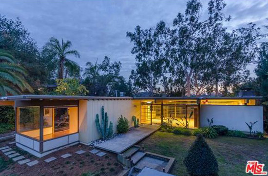 1950s Walter Koziol-designed midcentury modern property in Los Angeles, California, USA
